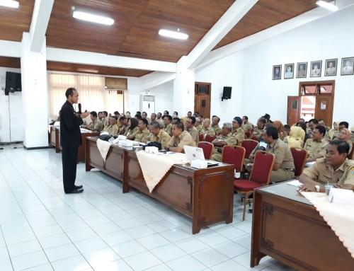 Sekretaris PPID Utama bersama Komisi Informasi Jelaskan Pentingnya Keterbukaan Informasi Pada PPID Desa se-Kudus