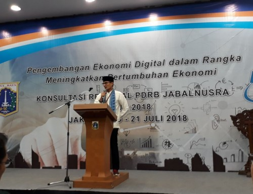 Konsultasi Regional Pendapatan Domestik Regional Bruto (PDRB) JABALNUSRA Tahun 2018
