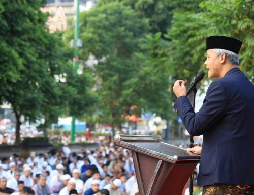 Paguyuban Lintas Iman Purwokerto Turut Sukseskan Jalannya Salat Id