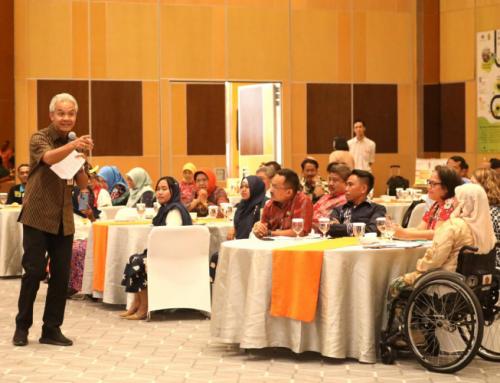 Terapkan Desa Inklusif, Tiga Minggu Ganjar Kebut Pendataan Penyandang Disabilitas