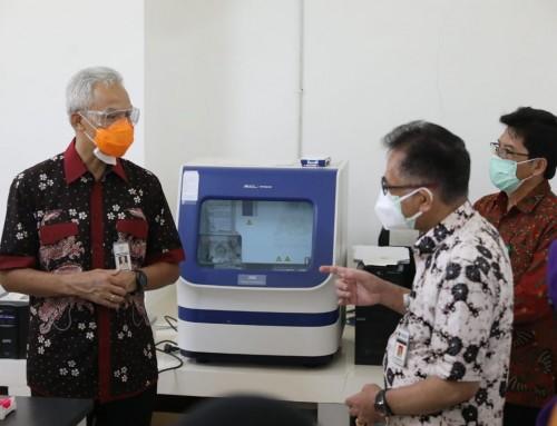 "Ganjar Dorong Balai Litbang Vektor Salatiga Jadi Pusat Tes ""Genome Sequencing"" di Jateng"