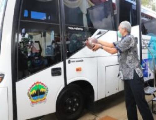 "Luncurkan Bus Vaksin, Ini Upaya Jateng Jangkau ""Remote Area"""